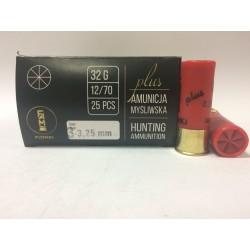Amunicja PLUS 12/70 GW 32g 3-3,25mm