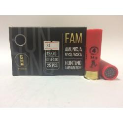 Amunicja 12/70 34g 4-3,00mm