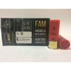 Amunicja 12/70 GW 36g 4-3,00mm