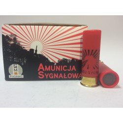 Amunicja 12/70 SYGNAŁOWA CZERWONA