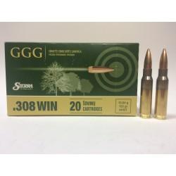 Amunicja .308 Win. GGG HPBT 155gr 10,04g