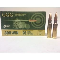 Amunicja .308 Win. GGG HPBT 168gr 10,89g