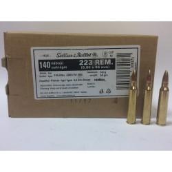 Amunicja .223 S&B FMJ 55gr 3.60g