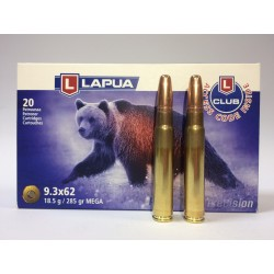 Amunicja LAPUA 9,3x62 MEGA 18,5g