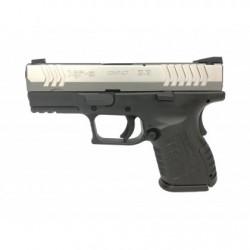 """Pistolet XDM-9 3,8"""" Compact Srebrno-Czarny"""