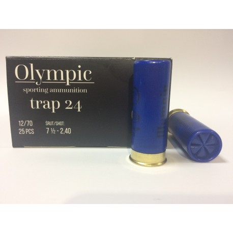 Amunicja 12/70 TRAP 24g 7,5-2,40mm