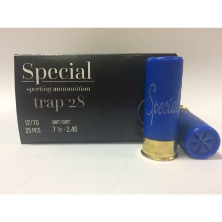 Amunicja 12/70 TRAP 28g SPECIAL 7,5-2,40mm