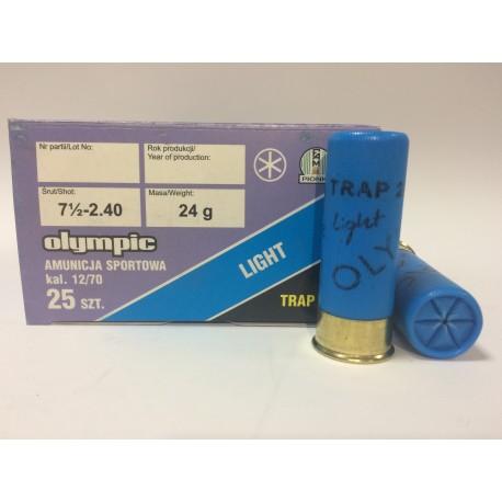 Amunicja 12/70 TRAP 24g OLYMPIC 7,5-2,40mm