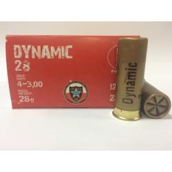 Amunicja 12/70 DYNAMIC 28g GW 4-3.00mm