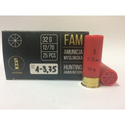Amunicja 12/70 GW 32g 1-3,75mm
