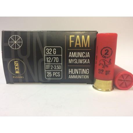 Amunicja 12/70 GW 32g 2-3,50mm