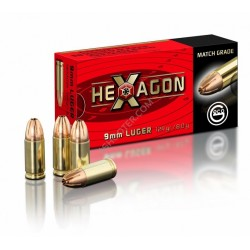Amunicja GECO 9x19mm 8,0g/124gr - HEXAGON