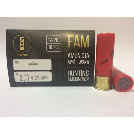 Amunicja PLUS 12/70 GW 32g 2/0-4,25mm