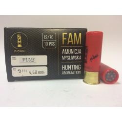 Amunicja PLUS 12/70 GW 32g 3/0-4,50mm