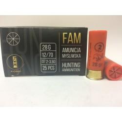 Amunicja 12/70 GW 28g 2-3,5mm