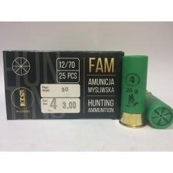 Amunicja 12/70 GW 30g 4-3,00mm