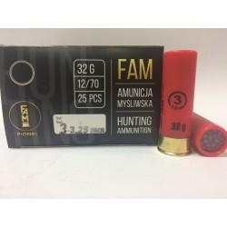 Amunicja 12/70 32g 3-3,25mm